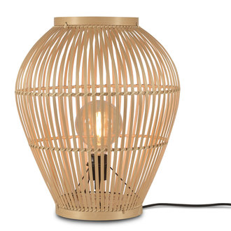 Good&Mojo Floor lamp Tuvalu bamboo natural, S