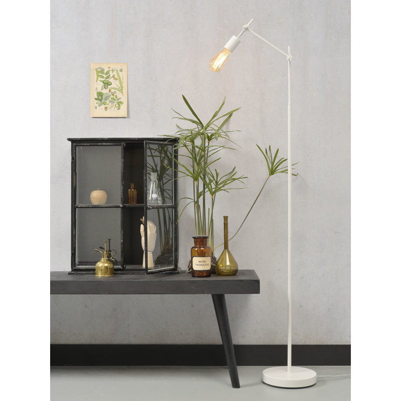 it's about RoMi-collectie Floor lamp iron Sheffield, white