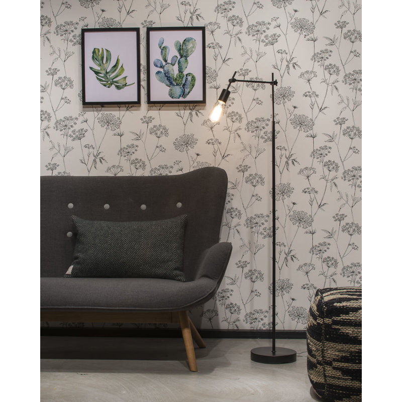 it's about RoMi-collectie Floor lamp iron Sheffield, black