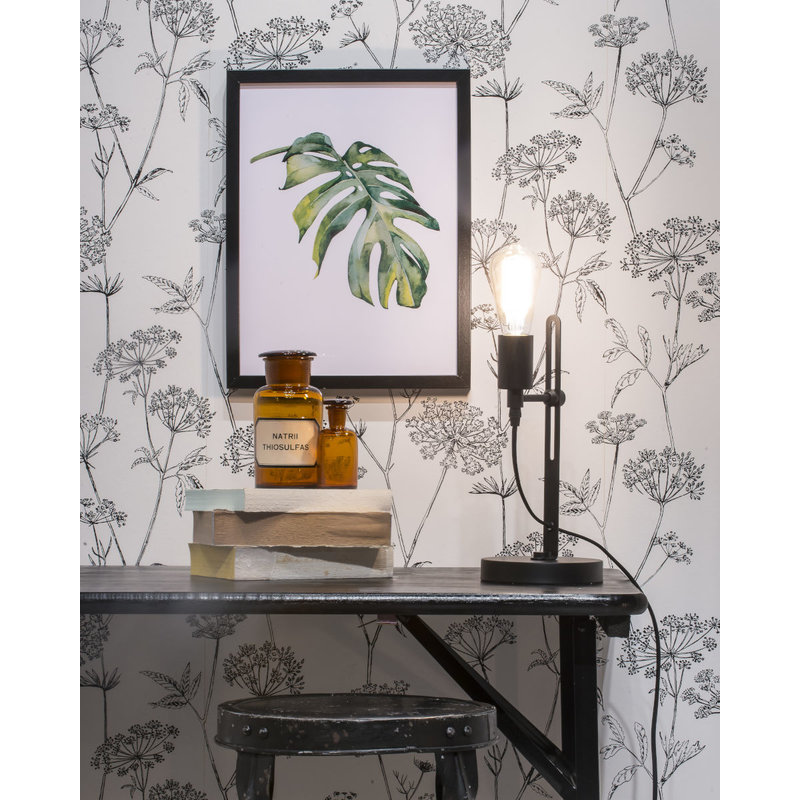 it's about RoMi-collectie Table lamp iron Seattle, black