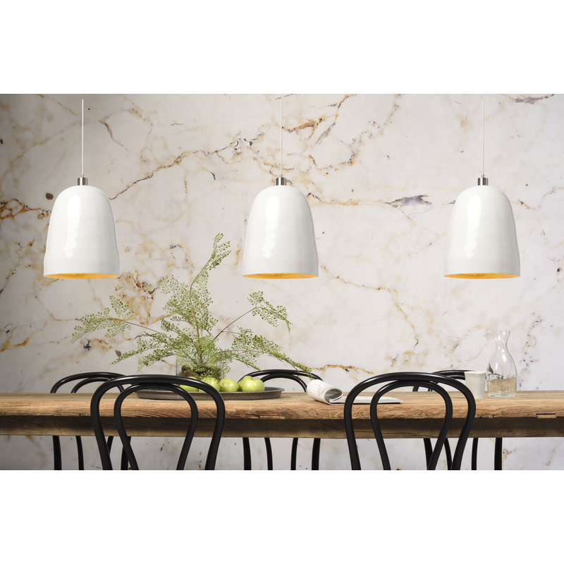 it's about RoMi-collectie Hanglamp bamboe Saigon  naturel/wit