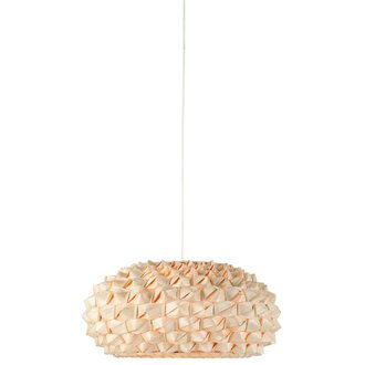 Good&Mojo Hanging lamp bamboo Sagano, flat natural