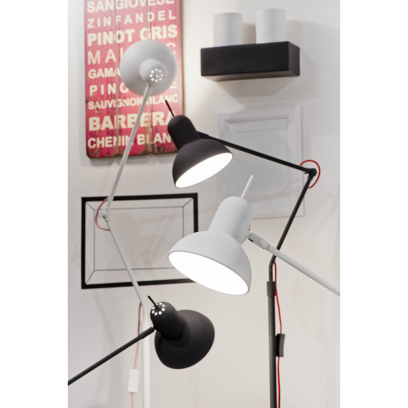 it's about RoMi-collectie Table lamp iron Nottingham white