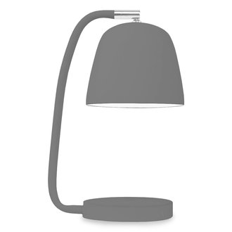 it's about RoMi Table lamp iron/rubber finish Newport, black