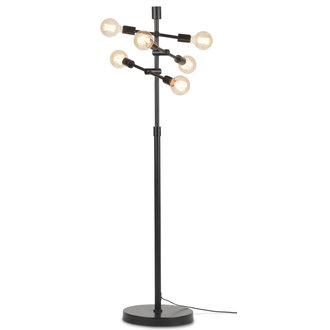 it's about RoMi Floor lamp iron Nashville 6-arm, black