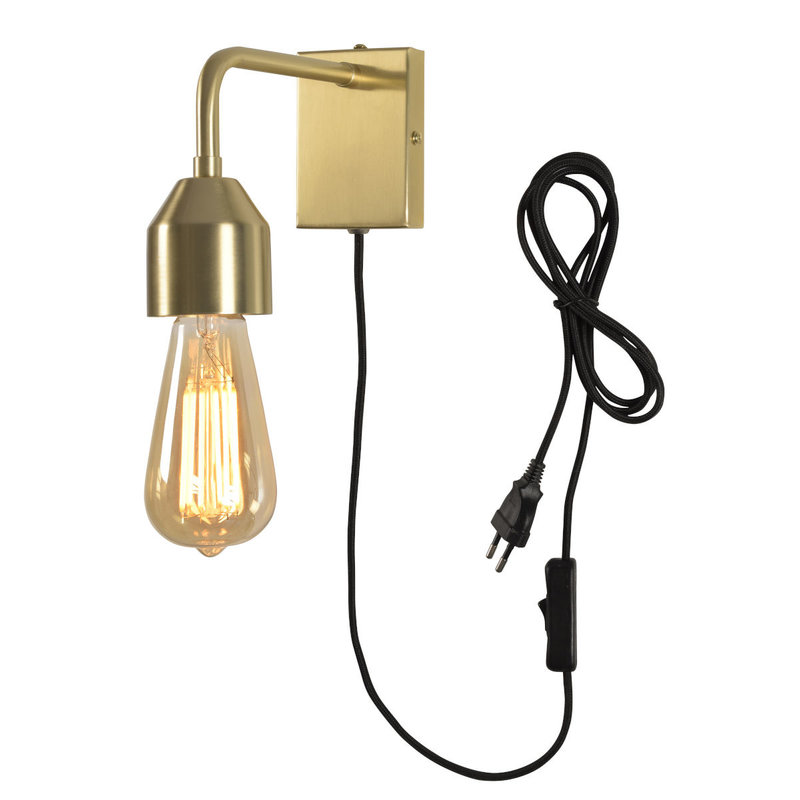 it's about RoMi-collectie Wandlamp goud Madrid  S