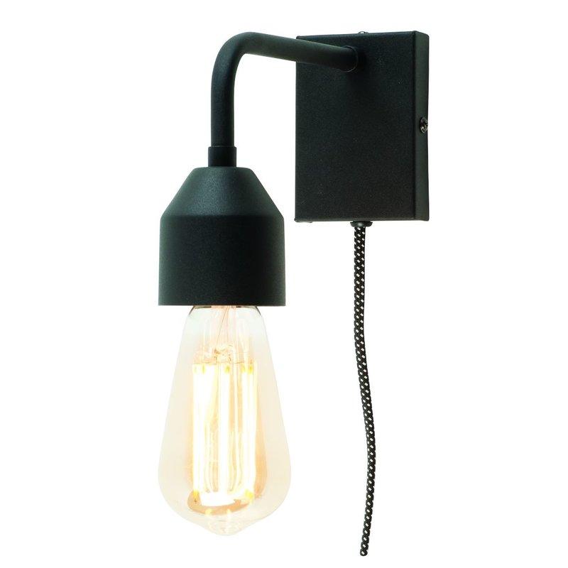 it's about RoMi-collectie Wandlamp zwart metaal Madrid  S