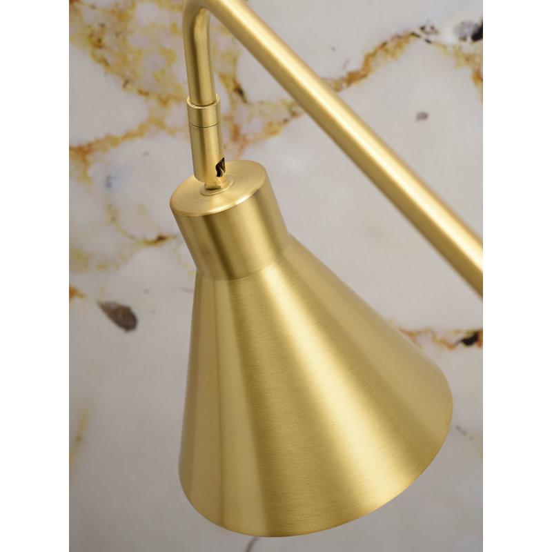 it's about RoMi-collectie Vloerlamp ijzer Lyon goud