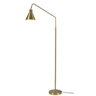 it's about RoMi Floor lamp iron Lyon, gold