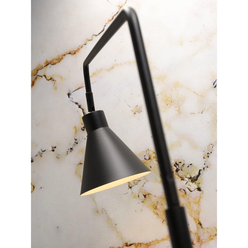 it's about RoMi-collectie Vloerlamp ijzer Lyon zwart