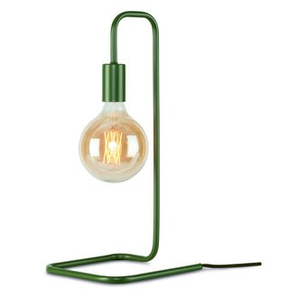 it's about RoMi Table lamp iron/tube London, olive green