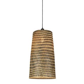 Good&Mojo Hanglamp Kalimantan bamboe/taps  L