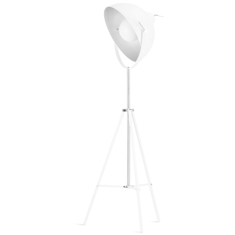 it's about RoMi-collectie Floor lamp iron Hollywood,white
