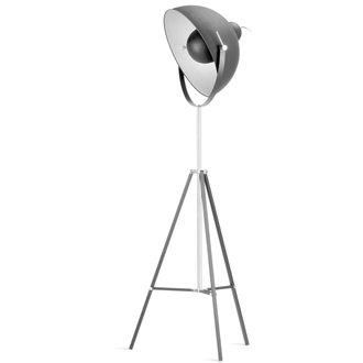 it's about RoMi Floor lamp iron Hollywood, black