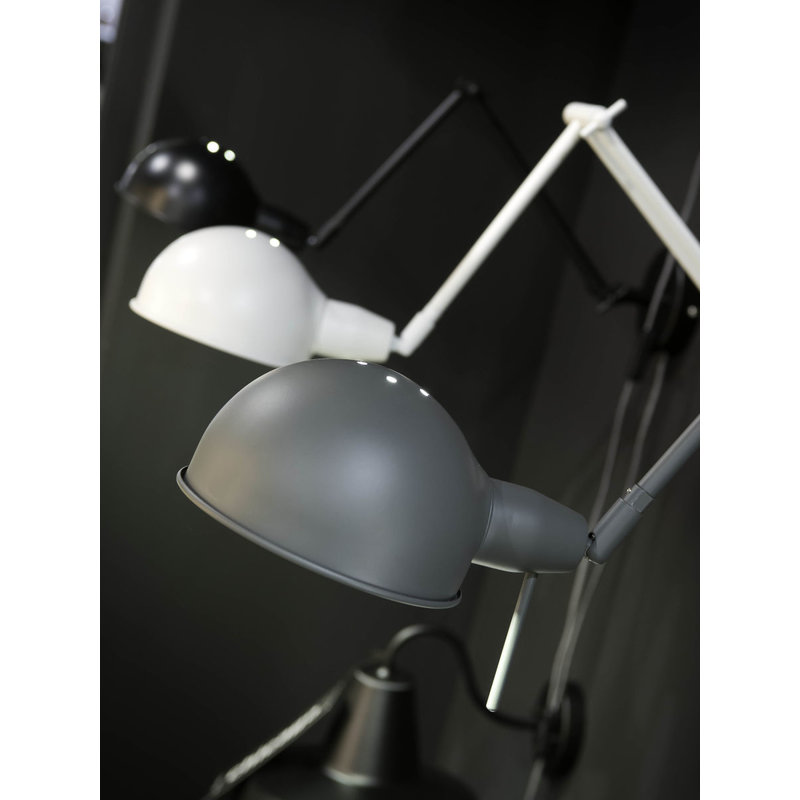 it's about RoMi-collectie Wall lamp iron Glasgow, grey-green