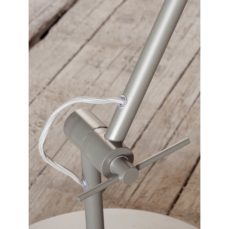 it's about RoMi-collectie Floor lamp iron Chicago, smoke grey