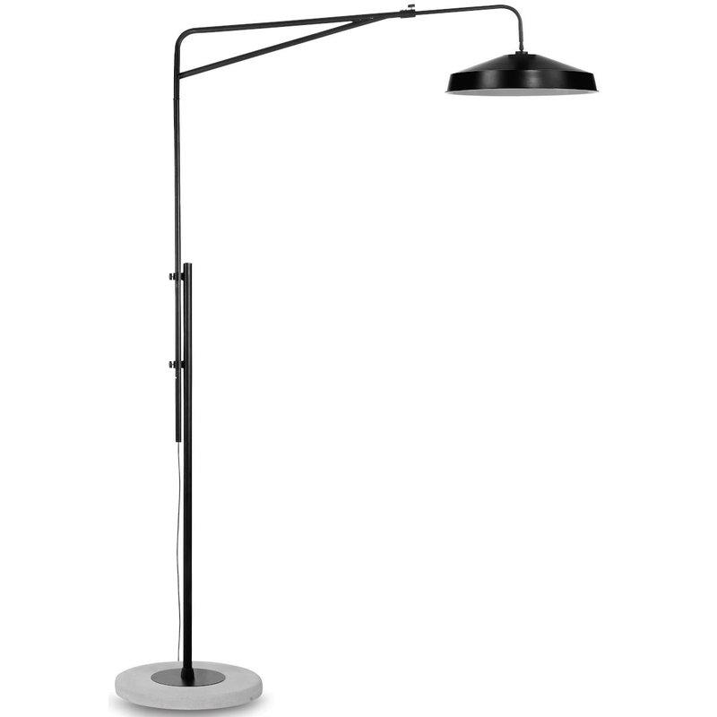 it's about RoMi-collectie Floor lamp Brighton/shade Detroit, black