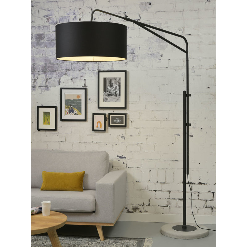 it's about RoMi-collectie Floor lamp Brighton black 6030, black