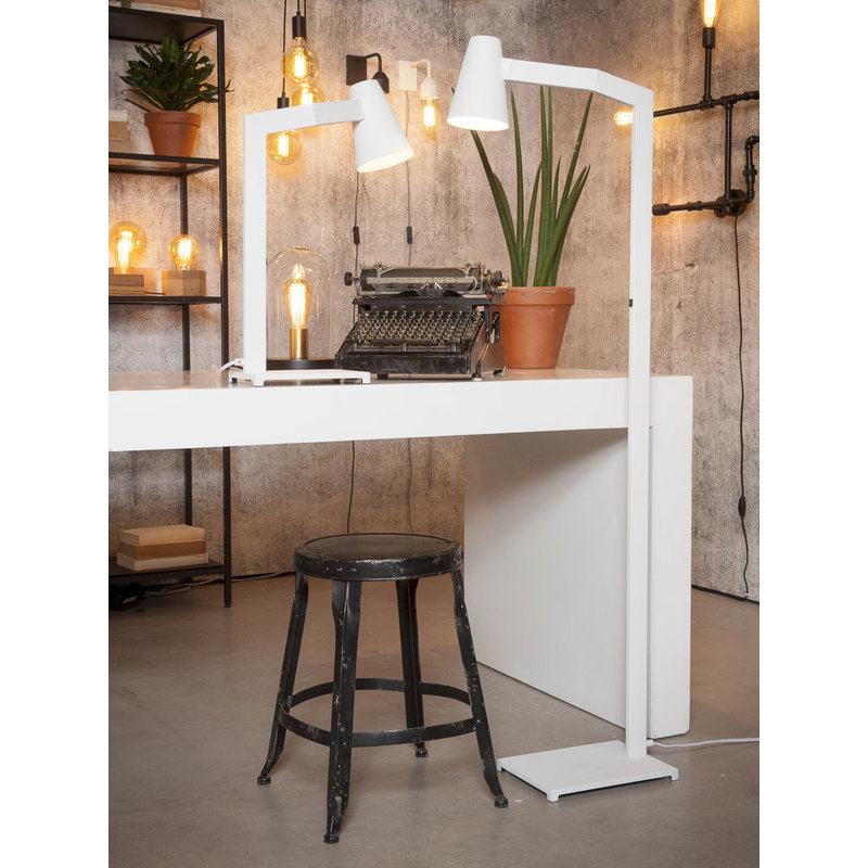 it's about RoMi-collectie Table lamp iron Biarritz, white