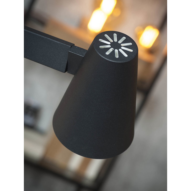 it's about RoMi-collectie Table lamp iron Biarritz, black