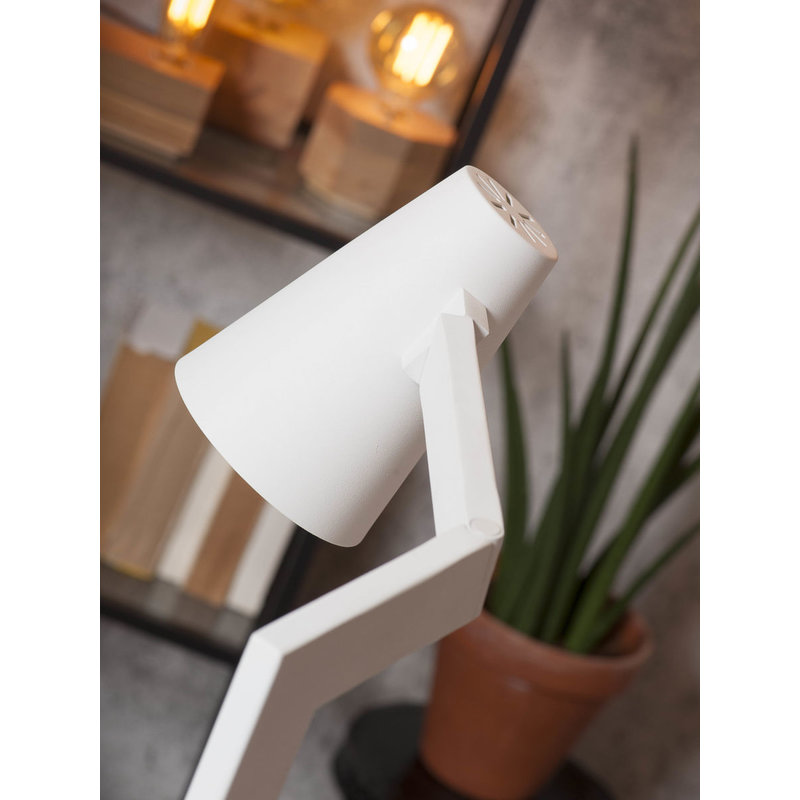 it's about RoMi-collectie Floor lamp iron Biarritz, white