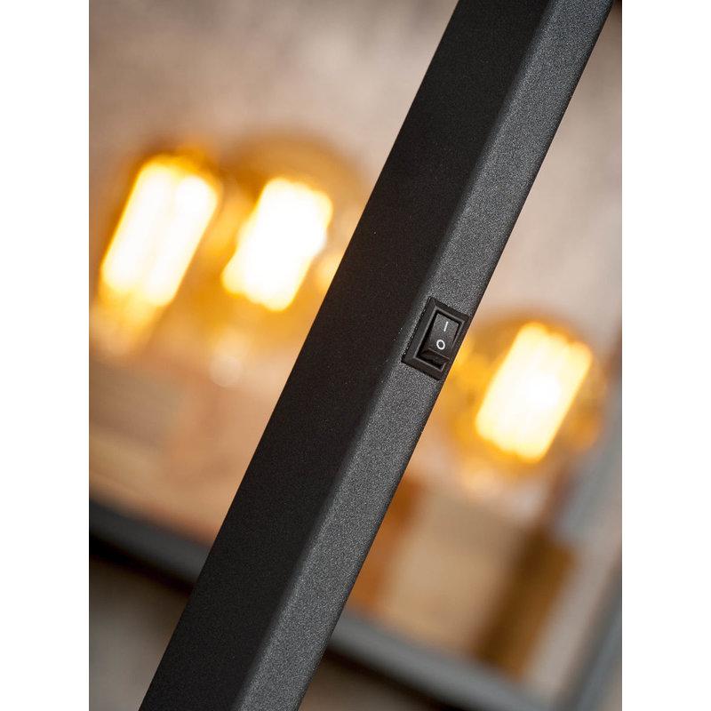 it's about RoMi-collectie Vloerlamp ijzer Biarritz zwart