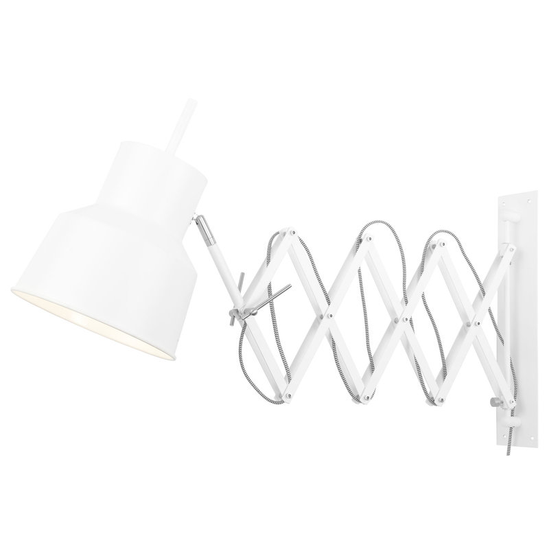 it's about RoMi-collectie Wall lamp iron/scissors Belfast, white