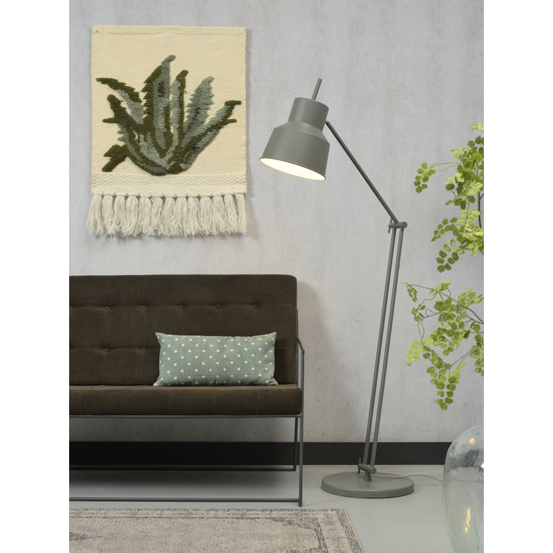 it's about RoMi-collectie Floor lamp iron Belfast, grey green