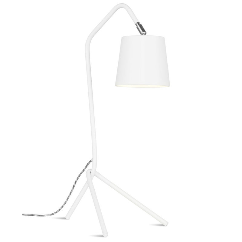 it's about RoMi-collectie Table lamp iron Barcelona, white
