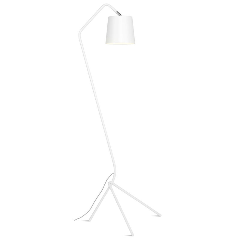 it's about RoMi-collectie Floor lamp iron Barcelona, white
