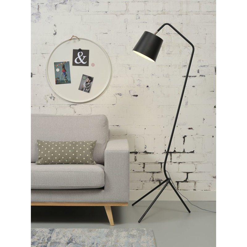 it's about RoMi-collectie Floor lamp iron Barcelona, black