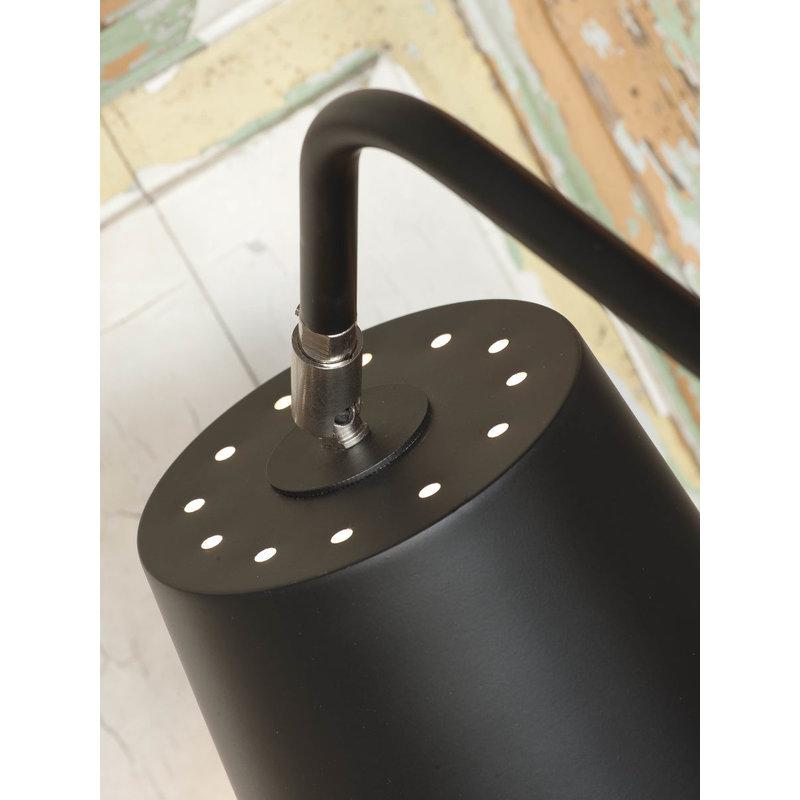 it's about RoMi-collectie Vloerlamp ijzer 3-poot Barcelona zwart