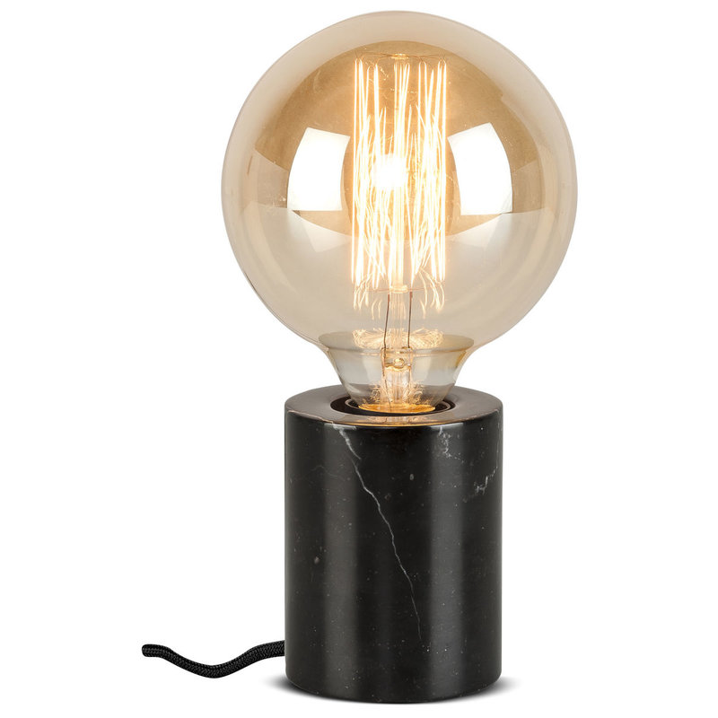 it's about RoMi-collectie Table lamp marble Athens, black