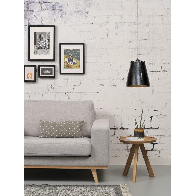 Good&Mojo-collectie Hanging lamp Amazon/single shade black, L