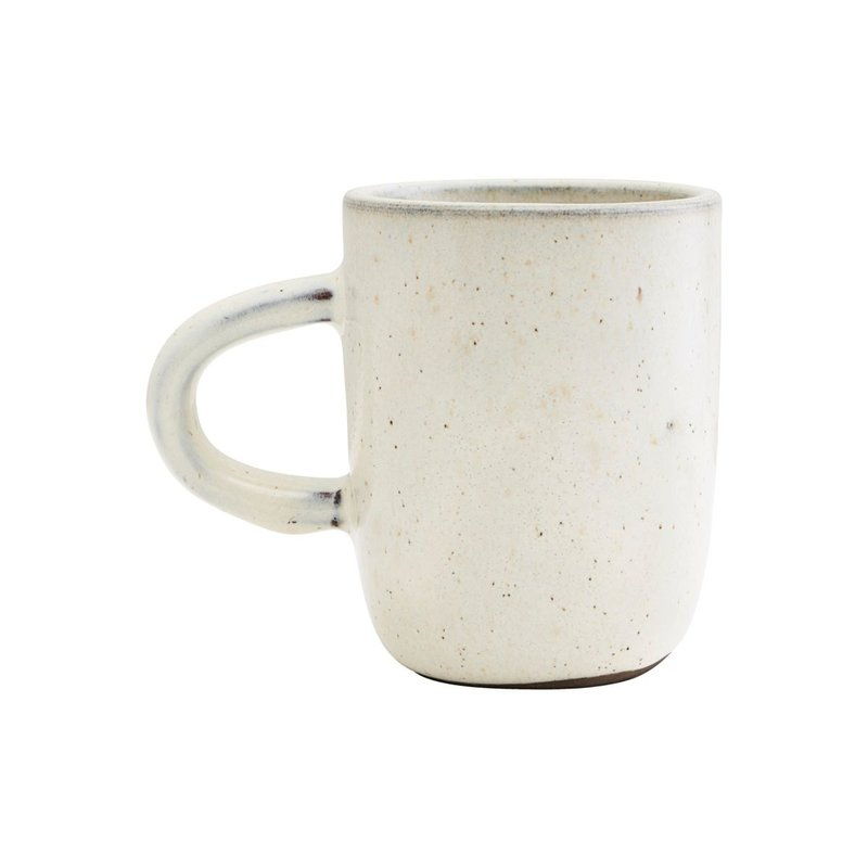 House Doctor-collectie Mug, Imma, Off-White