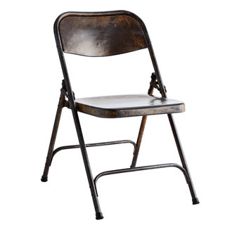Madam Stoltz Recycled folding chair