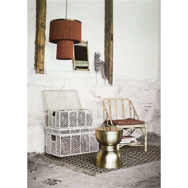 Madam Stoltz-collectie Iron stool