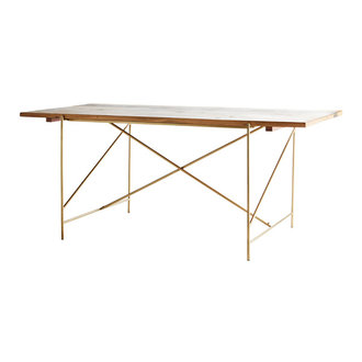 Madam Stoltz Wooden dining table