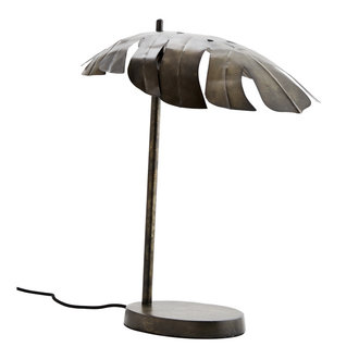 Madam Stoltz Iron table lamp