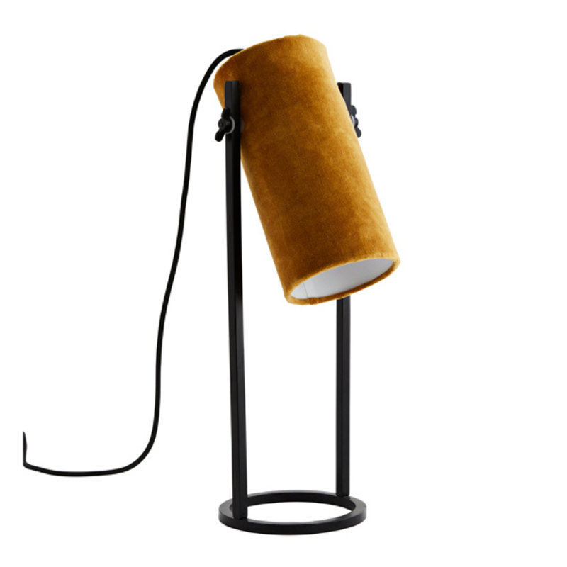 Madam Stoltz-collectie Velvet table lamp