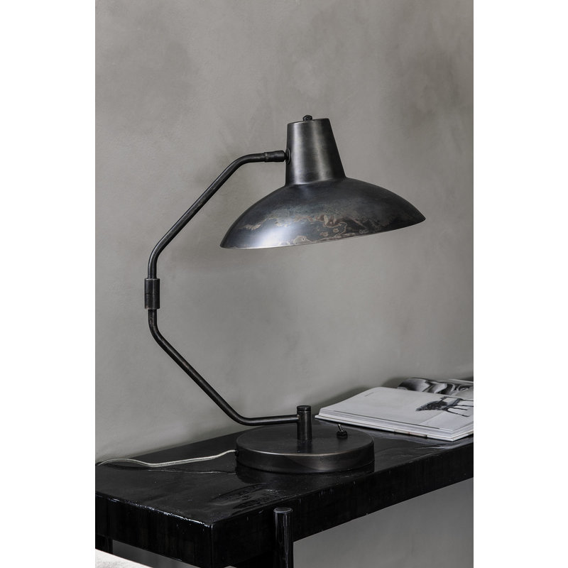 House Doctor-collectie Table lamp, Desk, Antique brown, E27, Max 40 W, 2.5 m cable