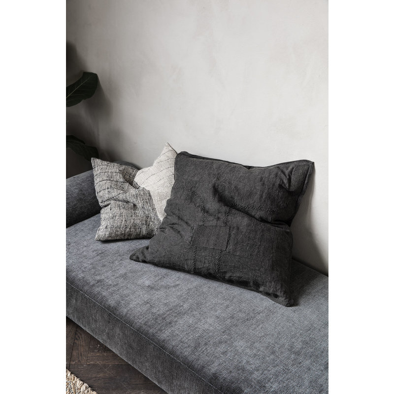 House Doctor-collectie Daybed, Diva, Dark grey