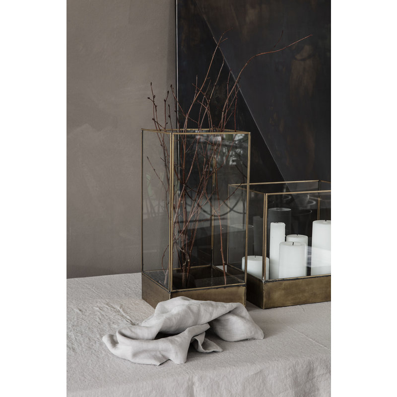 House Doctor-collectie Glazen box PLANT 45cm