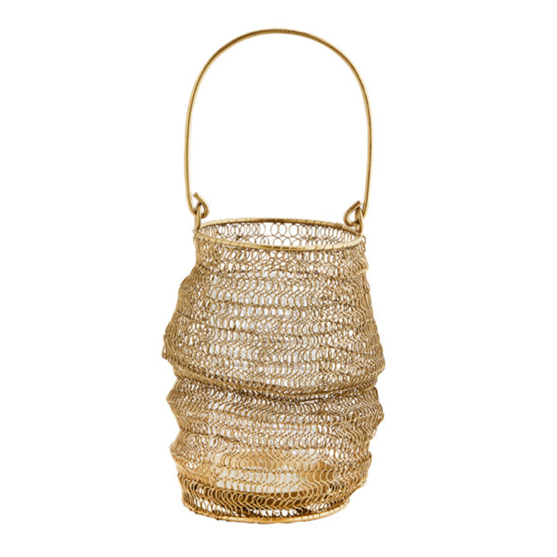 Madam Stoltz-collectie Knitted wire lantern