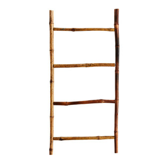 Madam Stoltz Bamboo ladder
