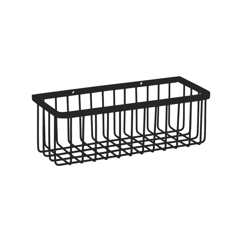 House Doctor-collectie Basket, Bath, Black