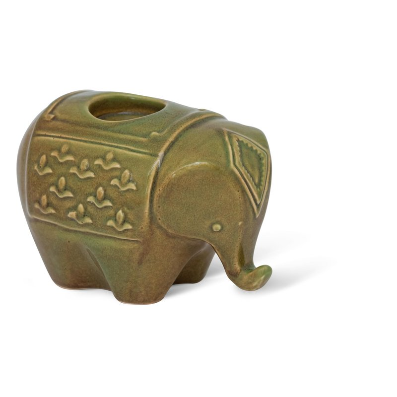 Urban Nature Culture-collectie Wax light holder Elephant