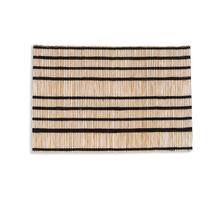 Urban Nature Culture-collectie Placemat STRIPED zwarte streep
