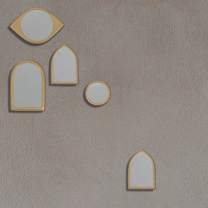 Urban Nature Culture-collectie Mirror LEBANON 13.3 x 20 cm