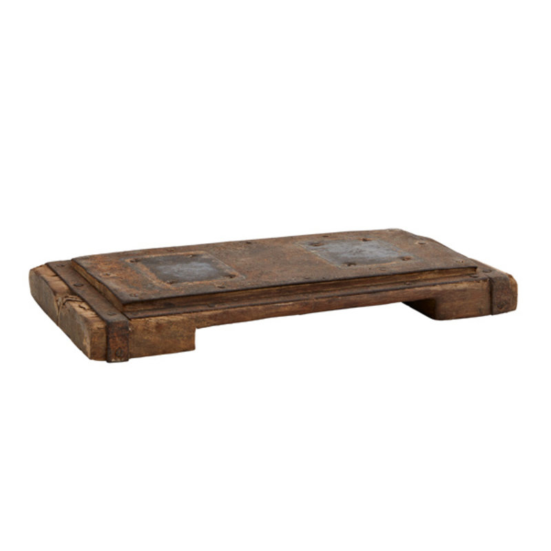 Madam Stoltz-collectie Recycled wooden tray